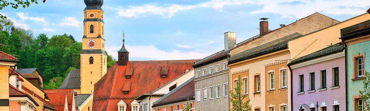 Dingolfing Stadt Panorama