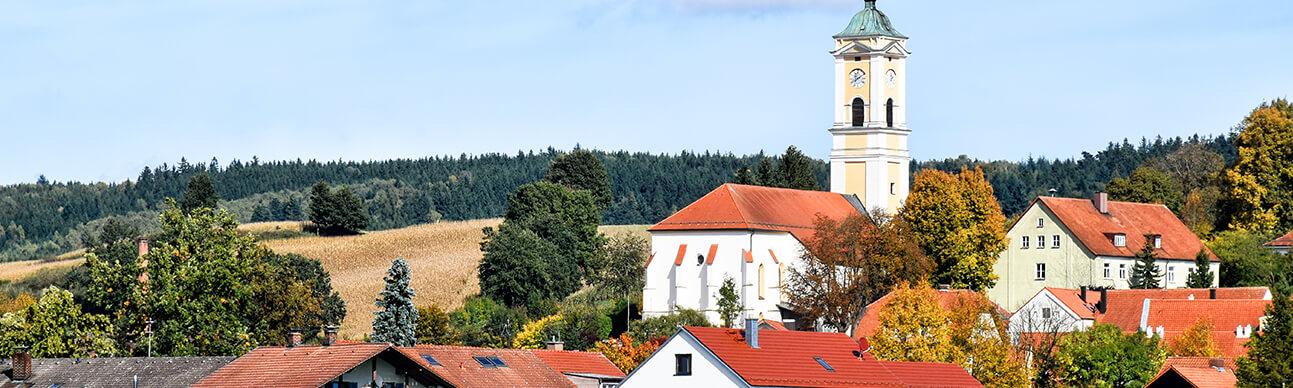Bad Birnbach im Rottal Panorama